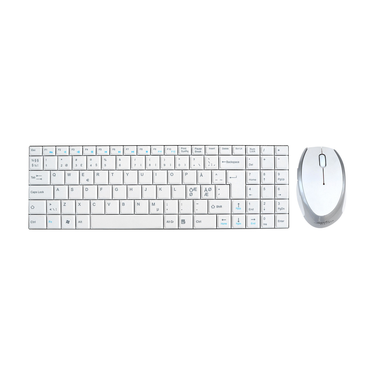 DACOTA PLATINUM WIRELESS KEYBOARD. Power.no