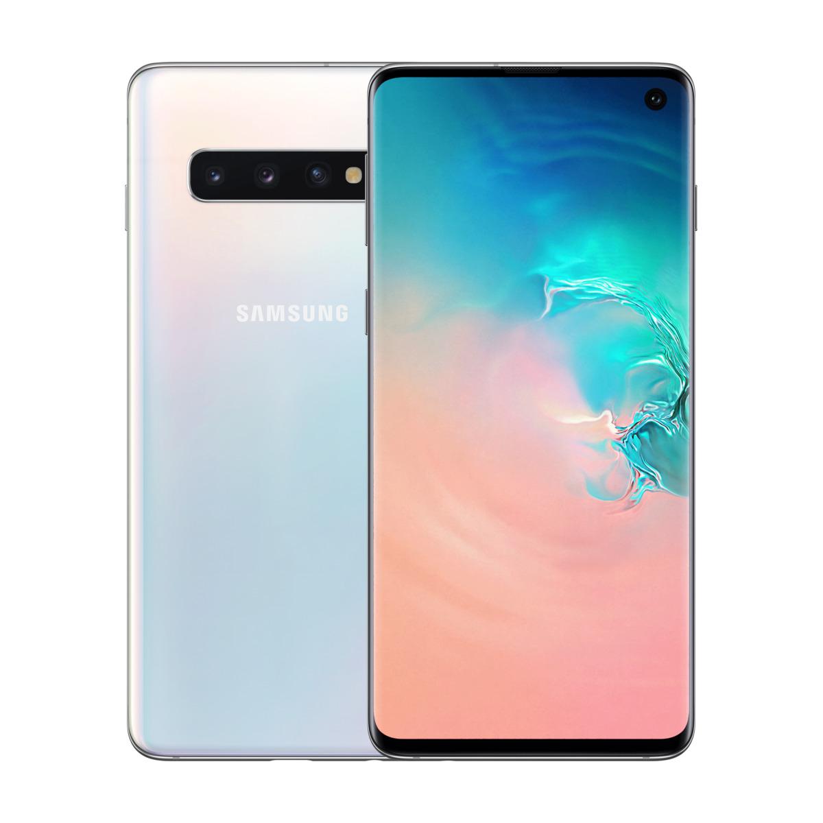Samsung Galaxy S10 128GB Prism White | Billig