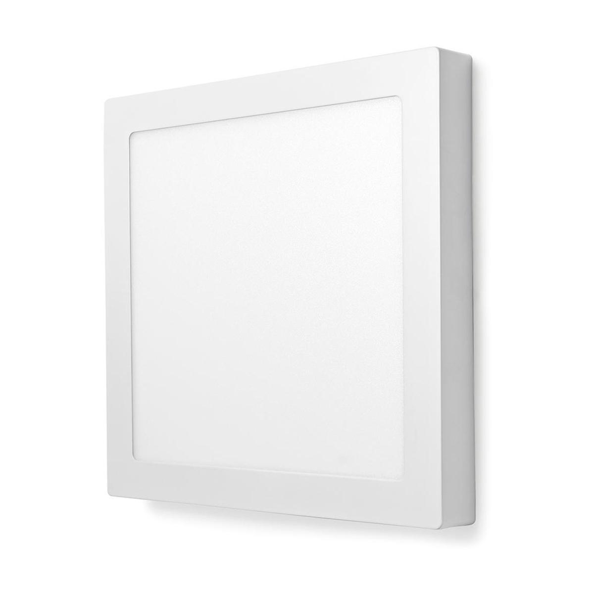 NEDIS WIFI SMART TAKLAMPE RUND 30 CM WIFILAW20WT Power.no
