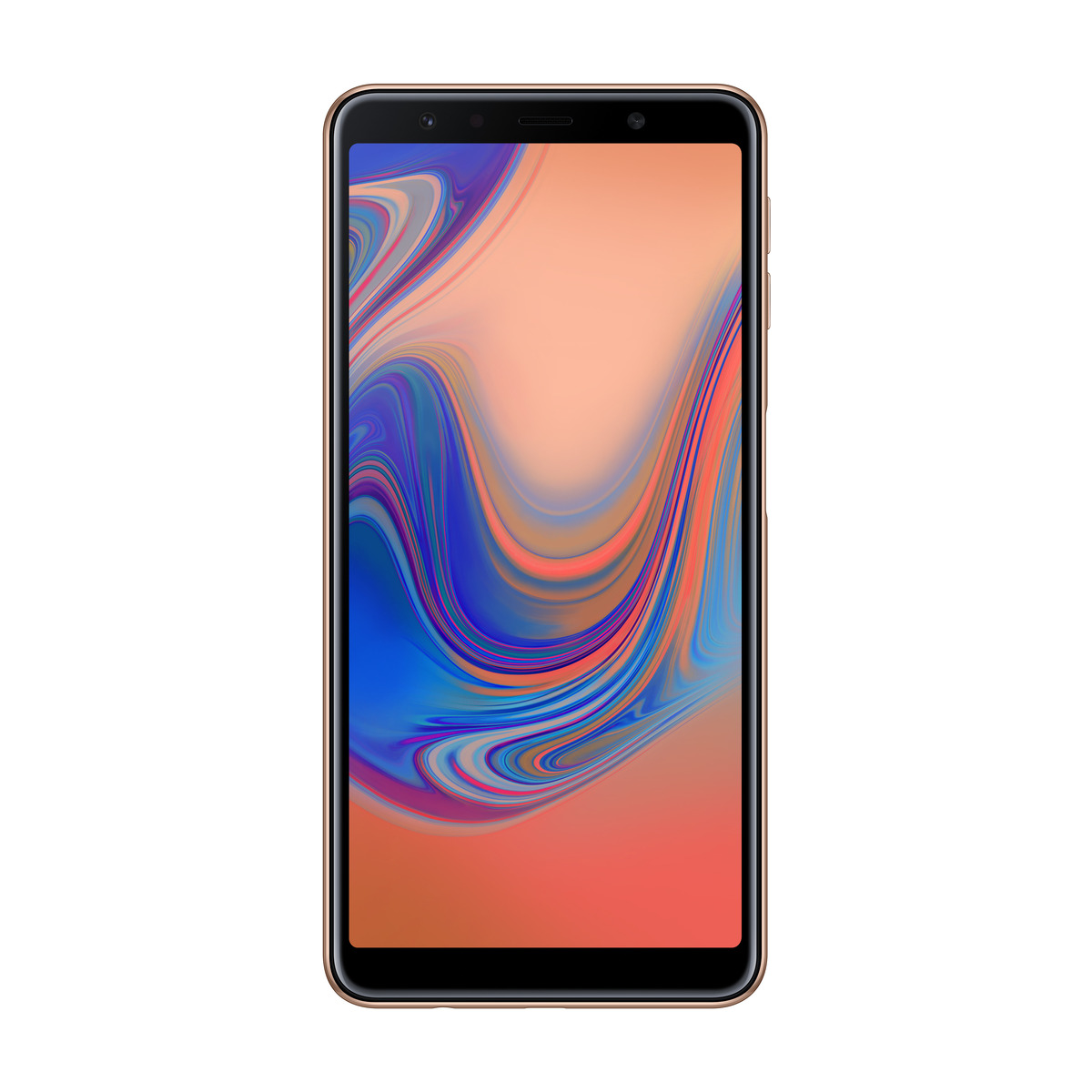 SAMSUNG GALAXY A7 2018 GULL 64 GB Power.no