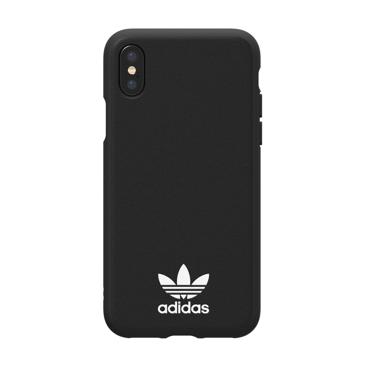 Adidas iPhone XXs deksel (sortgull)