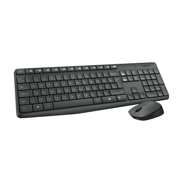 Logitech Trådløs tastatur og mus kombo | FINN.no