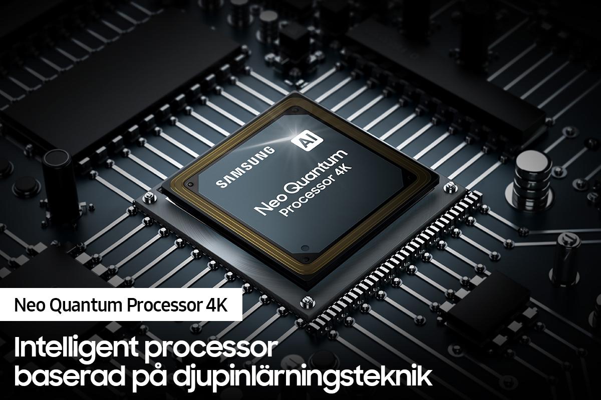 Samsung QN85 Neo Quantum Processor 4K - intelligent processor baserad på djupinlärningsteknik