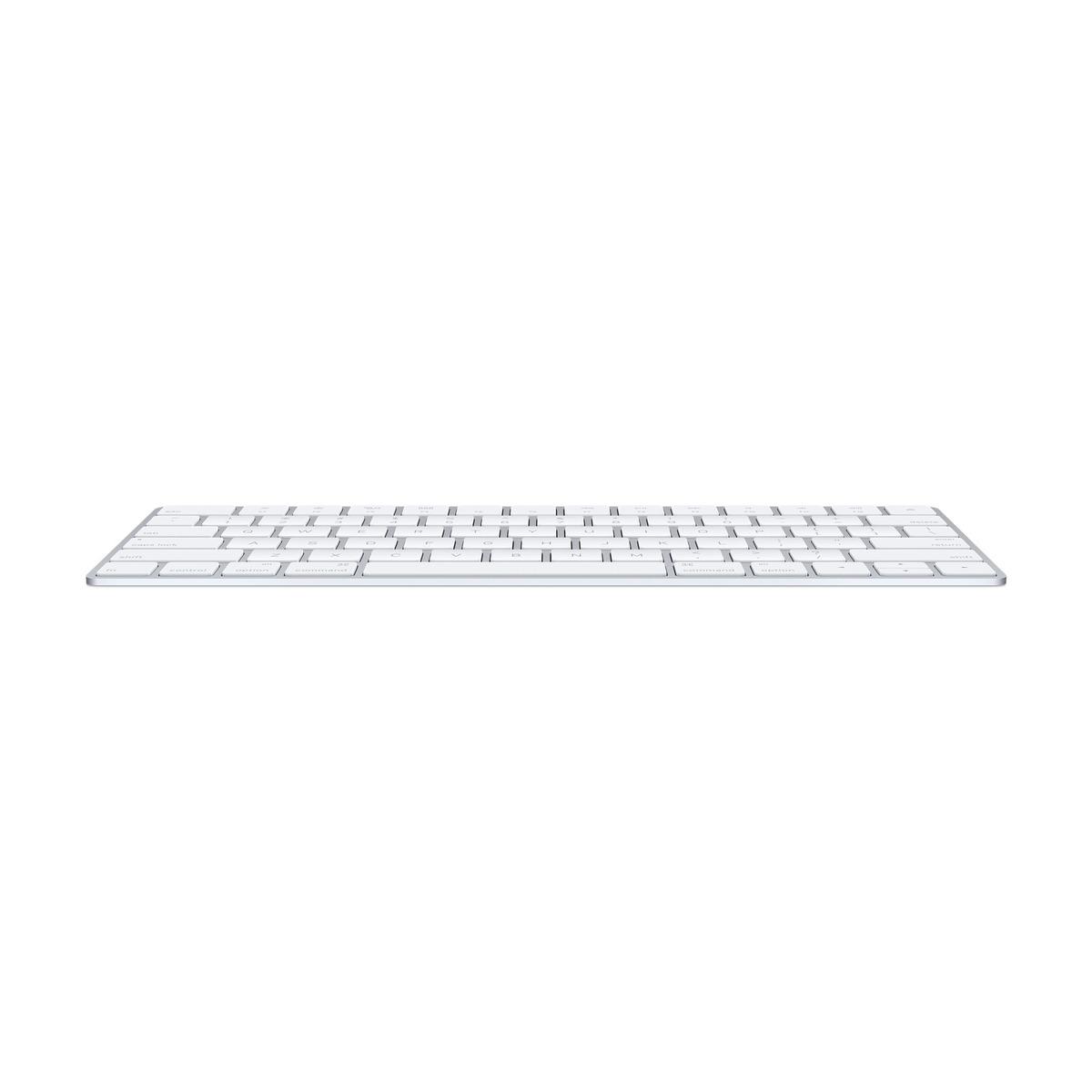 Apple Wireless Keyboard White Tastatur Dansk Grå | Billig