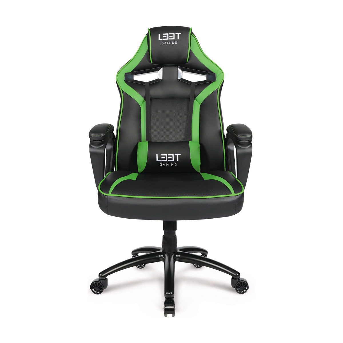L33T EXTREME GAMING CHAIR GREEN