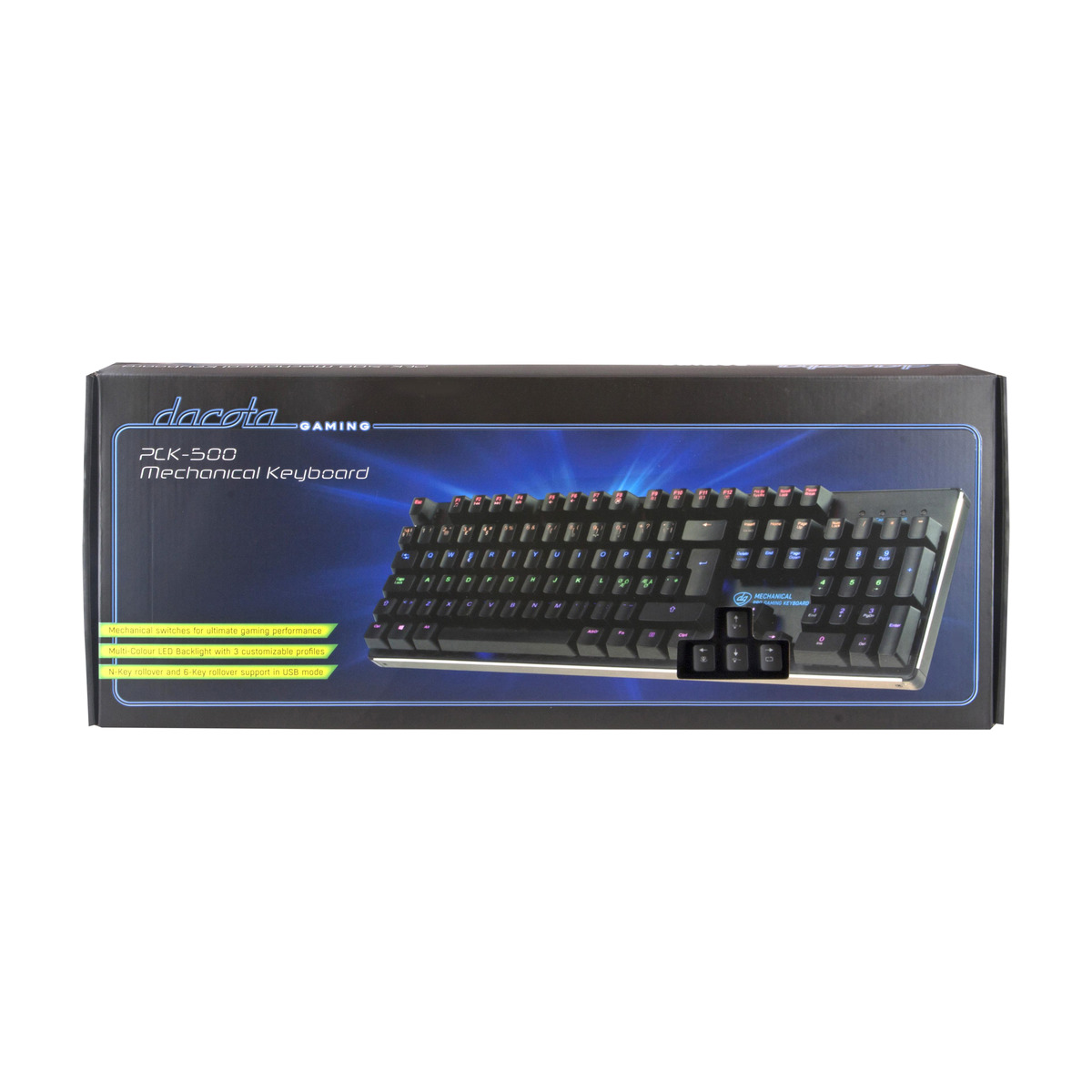 DACOTA GAMING PRO ATOMIC GAMINGTASTATUR Power.no