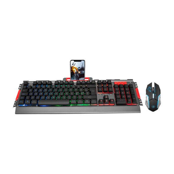 Tastatur og mus Pakke med tastatur og mus fra kjente